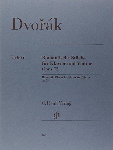 Pièces Romantiques Op.75 - Vl/Po