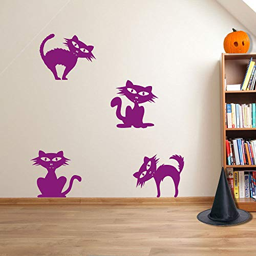 s Party Creepy Decoration Funny Wall Decal Stickers Vinyl Art Mural Decals for Home, Bedroom Decoration ()