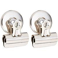 Acco Brands 2count S7071762–Confezione di 6clip magnetiche Bulldog