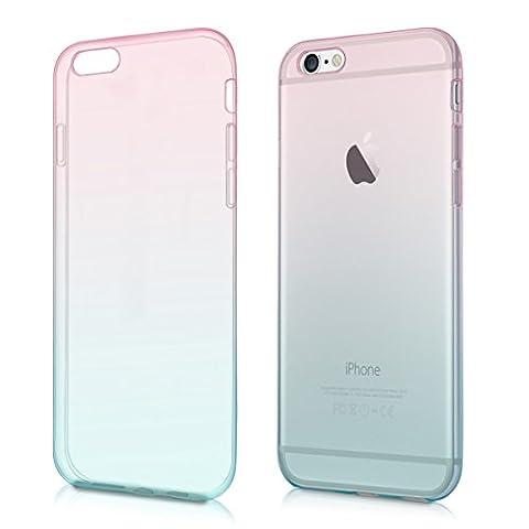 kwmobile Étui transparent en TPU silicone pour Apple iPhone 6