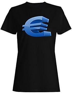 Amo el dinero del efectivo, euros, gracioso, novedad, arte camiseta de las mujeres c579f
