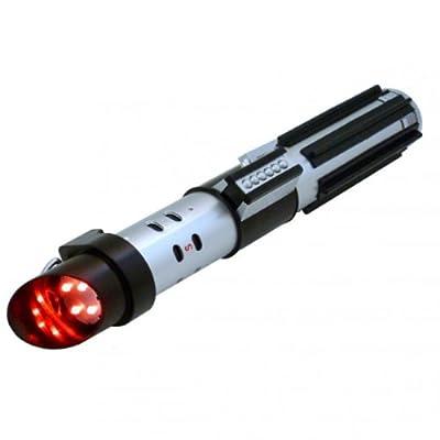 Darth Vader Lichtschwert Taschenlampe mit Soundeffekt - Star Wars Laserschwert von Wesco bei Lampenhans.de