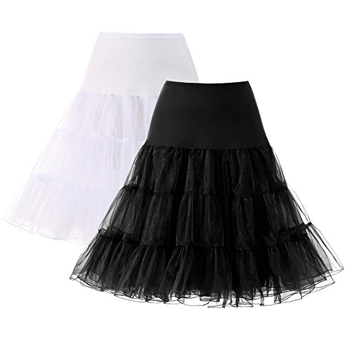 "AWEI Womens Petticoat 25"" A-line Crinoline Underskirt for sale  Delivered anywhere in UK"