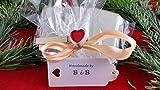 Beton, Steinguss Buchstaben 3D Deko Namen SILVESTER mit Stern und Herzklammer als Geschenk verpackt! Ein ausgefallenes Geschenk zur Geburt, Taufe, Geburtstag, Namenstag oder auch zu anderen Anlässen. - 2