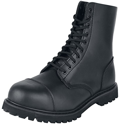 Bottes D'équitation En Cuir De Noorsk Fantôme / Chaussures (acier), Couleur Noir, Taille 8 Uk