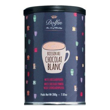 Dolfin   Weiße Trinkschokolade