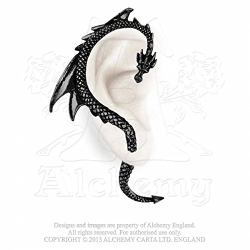 Alchemy Gothic The Dragon Lure Ohrstecker Standard