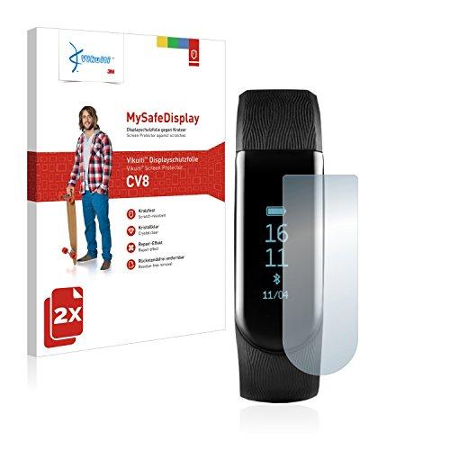 Vikuiti 2X Bildschirmschutzfolie CV8 von 3M kompatibel mit Medion Life S2000 Schutzfolie Folie