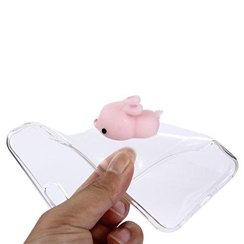 iPhone 6S Hülle, Voguecase Silikon Schutzhülle / Case / Cover / Hülle / TPU Gel Skin für Apple iPhone 6/6S 4.7(Pinch Puppen - Runde) + Gratis Universal Eingabestift Pinch Puppen - Kaninchen