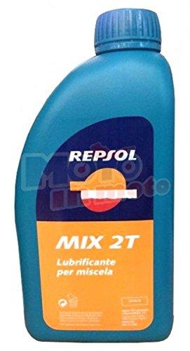 Olio Mix 2T per motori a miscela 1lt - Repsol 61103F7 - 12 pezz
