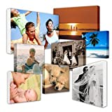 "Your My Photo Picture On Personalised Wall Canvas A4 12""x8"" inch 8x12 BOX FRAMED Perfect Gift"