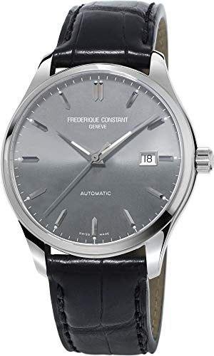 Classic Index Automatic Steel Mens Watch E-Strap Date FC-303LGS5B6 ()