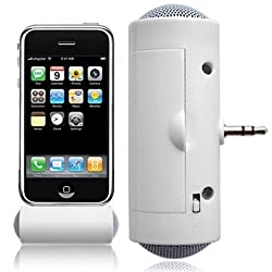 AST Works Portable Stereo Speakers Mini 3.5mm Jack Plug in for Phone Laptop Tablet MP3.