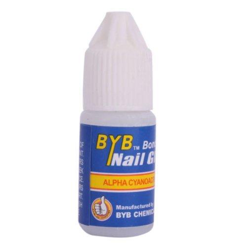 Colle pour faux ongles BYB, Fixation Nail art / glue manucure X1 par Allasiangoods ®