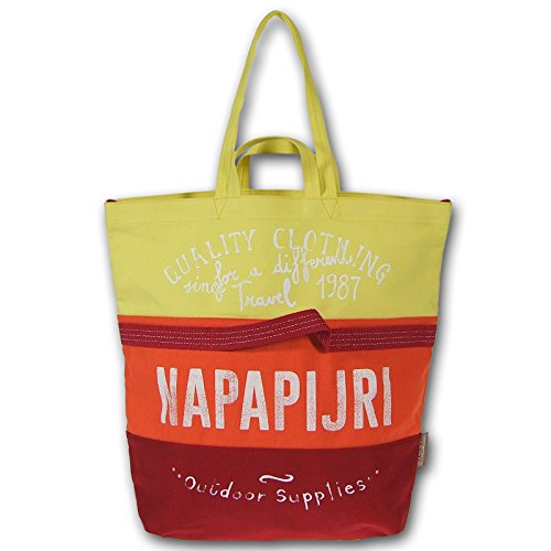 Napapijri Joy Big Shopper shopping bag borsa donna tela N8P01 032 sun