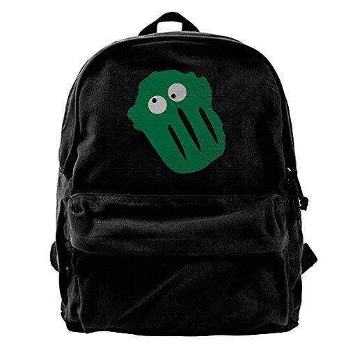 Wfispiy Canvas Backpack Laptop Bags High School Travel Bag Unisex Day Packs Shoulder Bags Hiking New-37 - Floral Drawstring Shoulder Bag