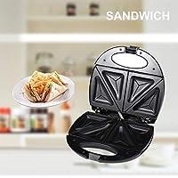 FairytaleMM Máquina de Hacer emparedados de sándwich de Acero Inoxidable de Sokany Máquina con tostadora con