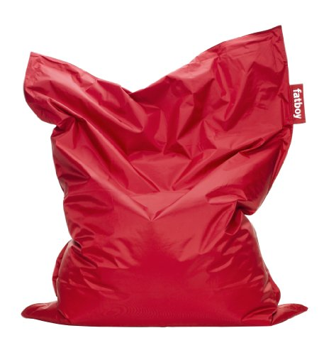 Fatboy Original Sitzsack Red, Nylon, 40 x 140 x 180 cm (LxBxH)
