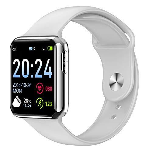 Zntz @ Smart Watch Farbdisplay Smart Armband EKG PPG EKG-Monitor Uhr Gesundheit Herzfrequenzüberwachung Temperaturmessung Übungsschritt
