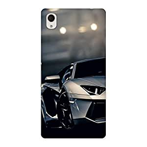 Stylish Royal Car Multicolor Back Case Cover for Sony Xperia M4