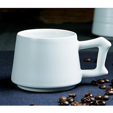 Taza de café de estilo europeo y platillo set/Simple creativa taza/ las copas de los amantes/ taza-P