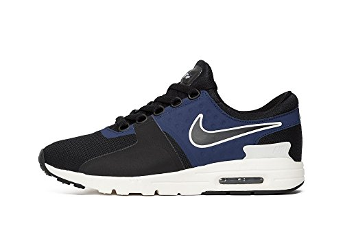 Nike Damen W Air Max Zero Laufschuhe Black/ Blue/ White