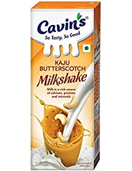 Cavin's Milkshake, Kaju Butterscotch, 180ml