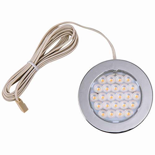Preisvergleich Produktbild HEITRONIC LED Downlight Metris chrom 1, 6 W warmweiß