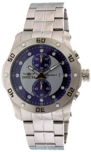 INVICTA 7383 7383 UNISEX STEEL BRACELET STAINLESS STEEL CASE DATE WATCH