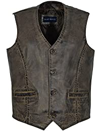 Men's New 5226 Party Fashion Stylish Dirty Brown Real Genuine Classic Designer Real Soft Lambskin Leather Waistcoats