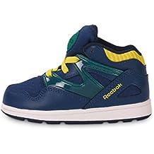 Reebok CLASSIC VERSA PUMP OMNI LITE Zapatillas Sneakers Azul Amarillo para Bebe