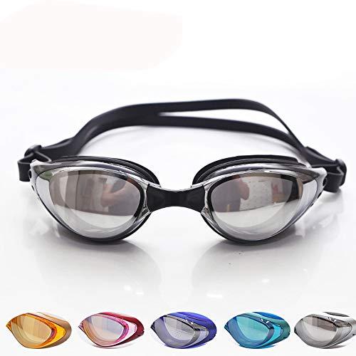 Lnyy Schwimmbrille Big Box Brille HD wasserdicht Anti-Fog Erwachsene Männer und Fraue
