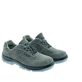 Aboutblu 2511650LA S1P SRC DGUV 112-191, New Ischia, Anti-Static Safety Shoe, Unisex, Green, Leather, Size 48