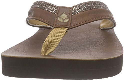 Reef - Lilly, Flip-flop Donna Marrone (Brown)