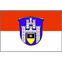 Fahne Flagge Großherzogtum Hessen 80 x 120 cm Bootsflagge Premiumqualität