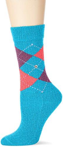 Burlington Damen Socken Whitby, Mehrfarbig (Meer 7307), 36/41