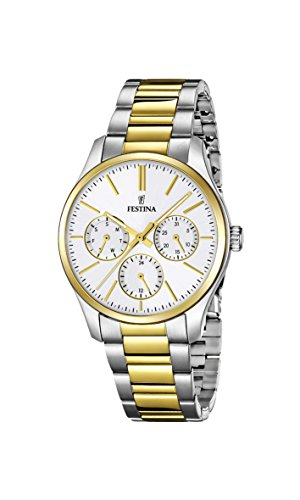 Festina Ladies Watch Multifunctional F16814 Analogue Quartz Stainless Steel / 1