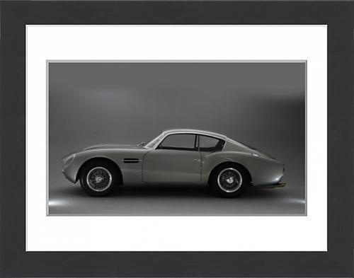 framed-print-of-1964-aston-martin-db4-gt-zagato