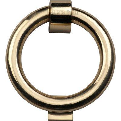 Durchmesser Ring Türklopfer Satin / Nickelfarben