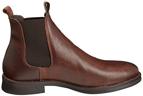 Selected Dmarc, Ankle boots sans doublure homme Marron (Demitasse)