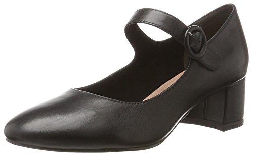 Tamaris Damen 24314 Pumps, Schwarz (Black Leather), 39 EU