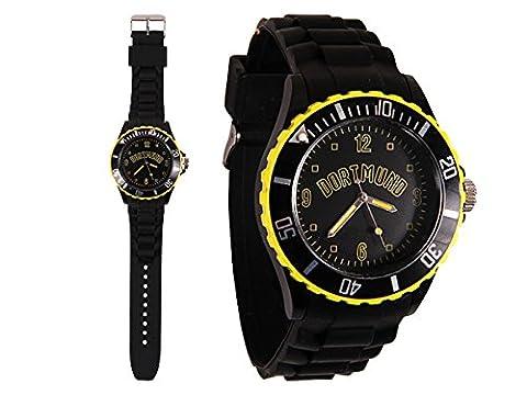 Stadt Dortmund Silikonuhr 260 Uhr Watch Armbanduhr schwarz