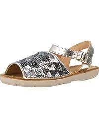 Sandalias y chanclas para ni�a, color Plateado , marca CONGUITOS, modelo Sandalias Y Chanclas Para Ni�a CONGUITOS HV127519 Plateado