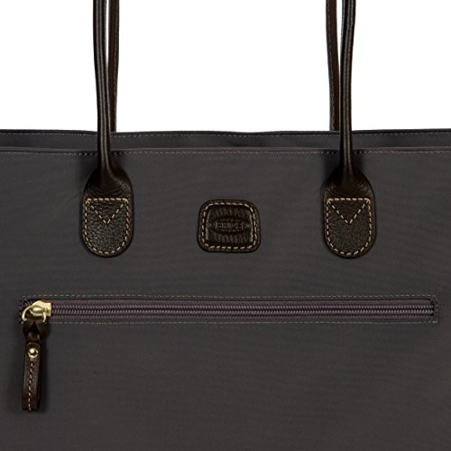 Brics Borsa Donna x-Travel Shopping grau, metal