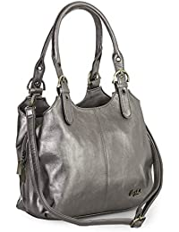 BHSL Womens Multiple Pockets Medium Size Long Strap Shoulder Bag - with a  Branded Protective Storage… 75ef6b8ad6