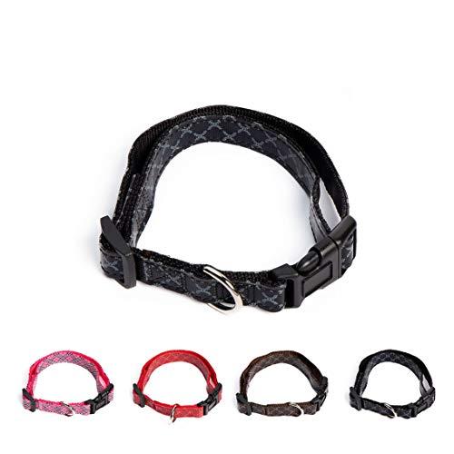 UPDOG Titel: Hundehalsband mit Design-Print Verstellbar mit verschiedenen Designs. Kleiner, mittelgroßer und großer Hund -