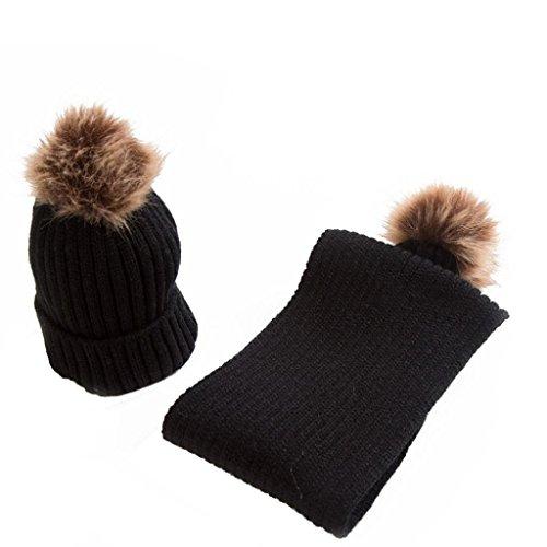 URSING Baby Kinder Winter warm halten Strickmützen und -