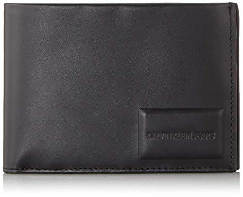 Billfold Coin Wallet (Calvin Klein Herren Omega Billfold W/Coin Schultertasche, Schwarz (Black), 9.5x2x12.5 cm)