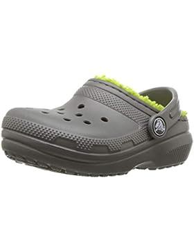 Crocs Classic Lined Clog Kids, Zuecos Unisex niños