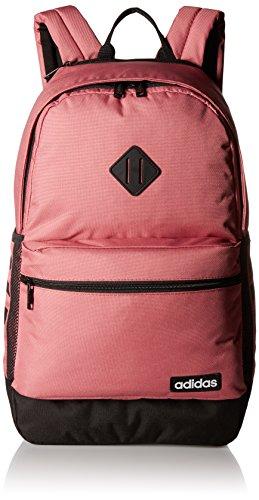 adidas Classic 3s II Backpack Mochila, Unisex, Med Pink, Talla Única